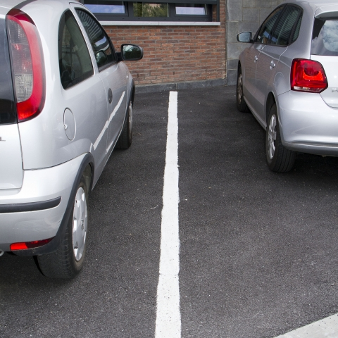 Parking en tarmac