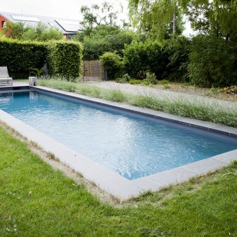Chemins d'accès, abords de piscine et terrasse