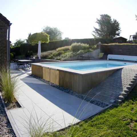 Terrasse et abords de piscine